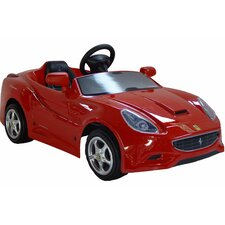Ferrari California 12V Car in Red