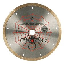 "7"" Black Widow Diamond Blade - Wet"