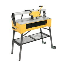 "9.2 Amp 1.5 HP 120 V 8""  Blade Capacity Wet Bridge Saw"
