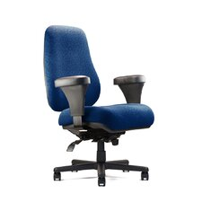 Big and Tall Extra Large Back Task Chair with Extra Large Seat and Minimal Contour