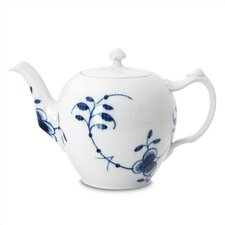 Blue Fluted Mega 33.75 Oz Teapot
