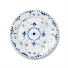 "Blue Fluted Full Lace 6.75"" Bread and Butter Plate"