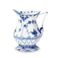 Blue Fluted Full Lace 5 oz. Creamer