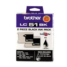 Lc512Pks Ink, 500 Page-Yield, 2/Pack