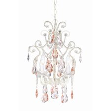 Essentials 4 Light Chateau Elegance Mini Chandelier