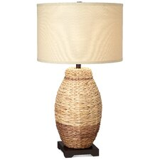 Seagrass Urn 1 Light Table Lamp