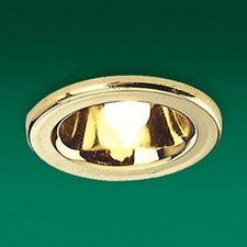Low Voltage Mini Halo Downlight in Brass