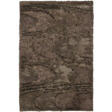 Areva Shag Brown Rug