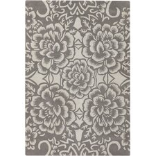 Contemporary Designer Grey Rug