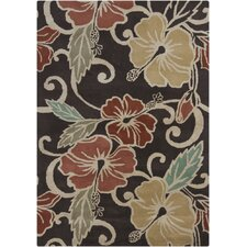 Gagan Dark Brown Rug
