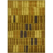 Gagan Brown/Green Rug