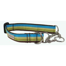Dublin Stripe Martingale Dog Collar