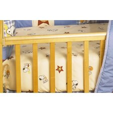 Champ Snoopy Crib Sheet