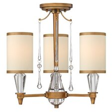 Bentley 3 Light Foyer Pendant
