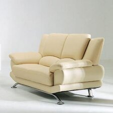 Jaeger Leather Loveseat