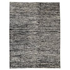 Husk White/Black Rug