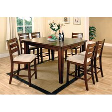 Pristine 7 Piece Counter Height Dining Set