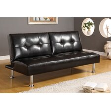 Coronado Leatherette Convertible Sofa