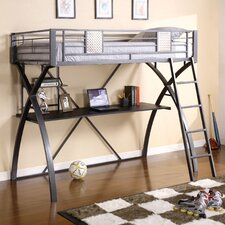 Hayden Twin Loft Bed with Workstation