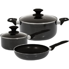Strain Aluminum 5-Piece Cookware Set