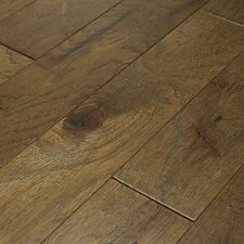 "Brushed Suede 4-1/2"" Engineered Hickory Flooring in Olive Branch"