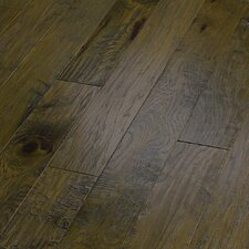 "World Tour 5"" Engineered Handscraped Hickory Flooring in Passage"