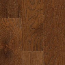 "Jubilee Honey 5"" Engineered Hickory Flooring in Burnt Amber"