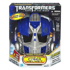 Transformer Dark of The Moon Robo Power Optimus Prime Helmet