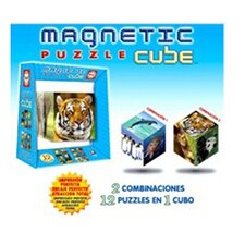 Magnetic Puzzle Cube - Wildlife