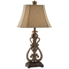Traditions Open Scroll Table Lamp