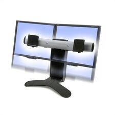 LX Dual Display Lift LCD Desk Stand
