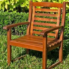 Acacia Patio Trinidad Dining Arm Chair