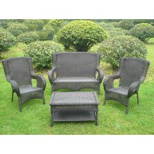 San Tropez 4 Piece Lounge Seating Group