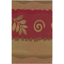 Tapestry Squiggles and Leaves Futon Cover