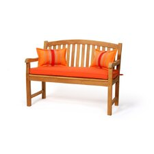 Teak Crown Garden Bench