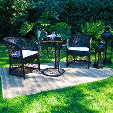 Coquette 3 Piece Bistro Set