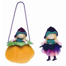 Winnie Witch and Pumpkin Bag