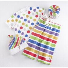 """Lollipop Loungewear"" Three Piece Gift Set"