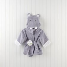 """Hug-alot-amus"" Hooded Hippo Robe"