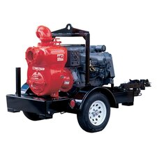1600 GMP Deutz F4L913 Trash Pump with Trailer