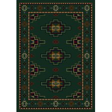 Signature Prairie Star Emerald Rug