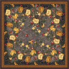 Pastiche Barrington Court Ebony Floral Rug