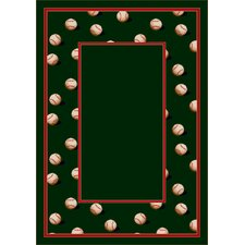 Design Center Slider Olive Novelty Rug