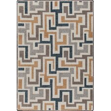 Mix and Mingle Stone Junctions Rug
