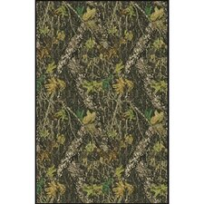 Mossy Oak Breakup Solid Camo Novelty Rug