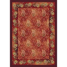 Pastiche Kashmiran Caramay Indian Berry Rug