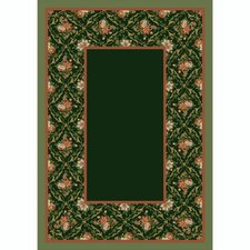 Design Center Bouquet Lace Olive Rug