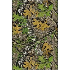 Mossy Oak Obsession Solid Camo Novelty Rug