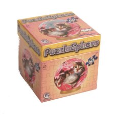 Bed of Roses - Kittens 60 Piece Jigsaw Puzzle