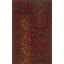 Ventura Brown/Red Rug